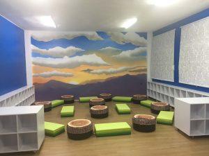 Biblioteca del colegio Las Dunas