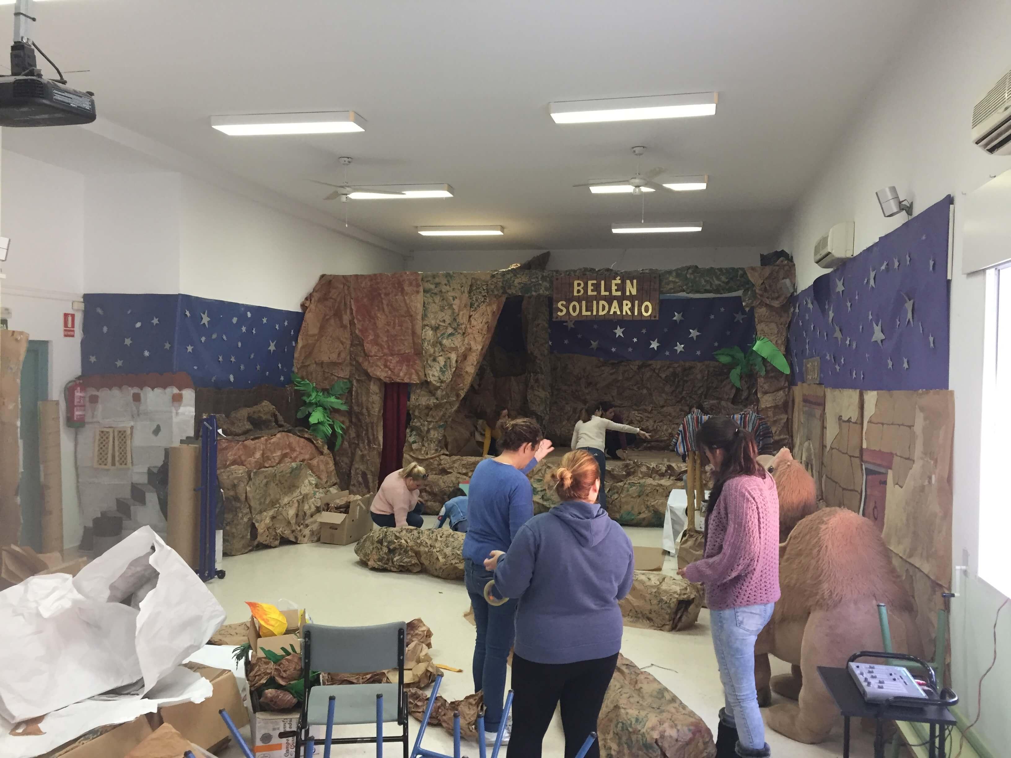 Convivencia Navideña Solidaria Colegio Las Dunas
