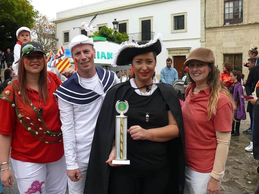 ¡Nuevamente Las Dunas Primer Premio en la Cabalgata Infantil de Carnaval!