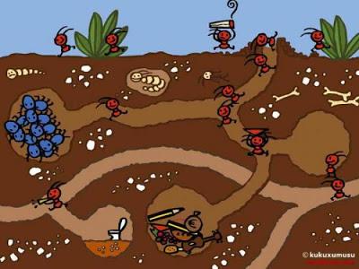 Coloreando letras: Hormigas, hormiguitas y hormigotas PROYECTO DE ...