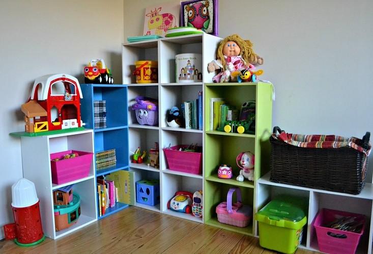 Como guardar juguetes de niños en espacios pequeños