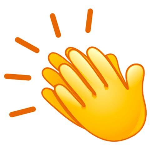 Descripción: Emoticones aplaudir | Emoticones