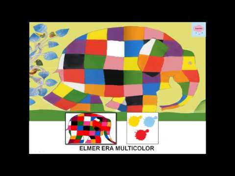 Elmer, cuento adaptado con pictogramas - YouTube