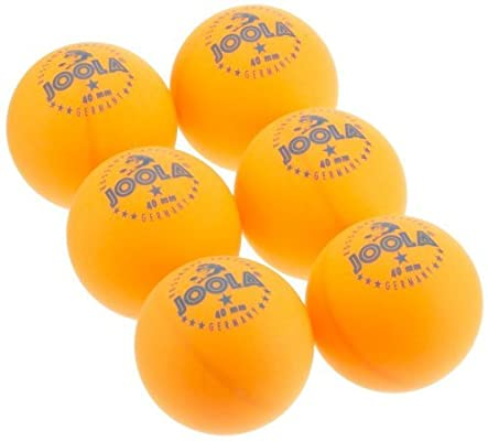 Joola Tt Ball - Pelota de ping pong, color naranja: Amazon.es ...
